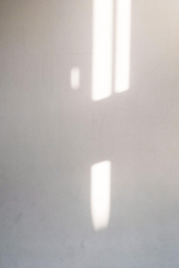 Shadow on wall